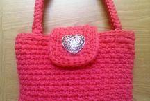 Bolso de trapillo pink