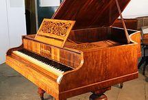 1860 - 1870 Piano Case Styles / 1860 - 1870 Piano Case Styles