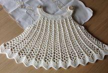 vestido criança crochê