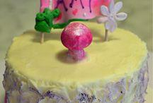 Babies First Birthday Cake / www.eloisespastries.com