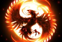 Phoenix / Flame birth