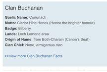 Buchanan Clan/ Scottish heritage