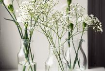 Wedding tableflowers