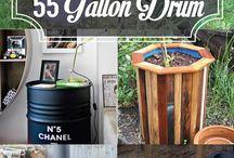 DIY 55 drums ideas