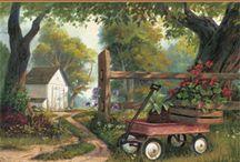 Art: Landscapes - Farms