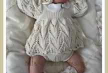 Tricots bébés et poupées