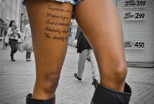 Tattoos / by Vesna Dumstrey-Soos