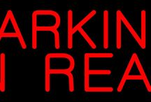 Parking Neon Signs