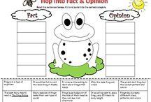 Fact vs Opinion / by Wanda Bosak
