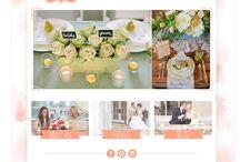 Melissa Mitchell Website Design / Website Design by Melissa Mitchell. Custom Wordpress websites for creatives.