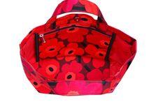 Marimekko bags / tassen / Hier kun je enkele mooie voorbeelden zien van de tassen van dit Finse merk.