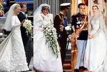 Royal Weddings and weddings fit for royals / On Queen's Birthday weekend, we thought it apt to find and share some royal wedding images throughout the ages.