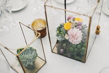 t a b l e / Wedding table decorations, DYI