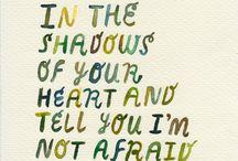 Words / by Jasmine McKinney