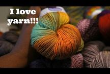 Behind the Scenes / My travels as I select yarn for my projects