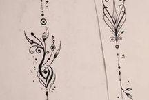Arm tatoeage