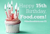 Food.Com's 15th Birthday Party / by Kathie Hoehn