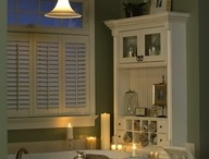 Country/vintage bathroom ideas / Inspiration for a country/vintage inspired bathroom