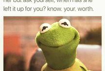 The Green Guru / Kermit the Frog in his infinite wisdom