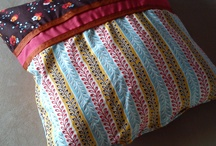 pillows and bags / sweet and colorful