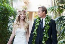 """A Touch of Hawaii by @felicievents / Get inspired by this Felici Events wedding """"A Touch of Hawaii"""" at the Four Seasons Resort Biltmore in beautiful Santa Barbara!"""