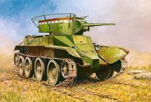 Illustration / Ilustracje / All soviet tanks in illustration / Czołgi radzieckie na ilustracjach