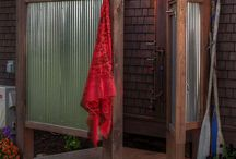 outdoor showers baths