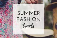 Summer Style / summer, summer style, summer fashion, women's summer outfit ideas, summer outfit inspo