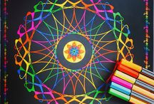 Between the lines / Coloring books