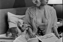 Jayne Mansfield / Jayne Mansfield was an American actress in film, theatre, and television. She was also a nightclub entertainer, a singer, and one of the early Playboy Playmates / by Speranza Phillips