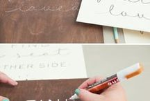 Wedding DIY / Want a little project before your big day? Check out some great DIY ideas for your wedding!