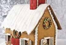 Gingerbread House Ideas / by Jill Wiggett Quaglietta