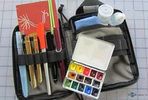 Watercolor: tips, organize, how to