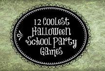 School Halloween party!