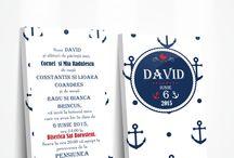Invitatie Ciocolata Botez Navy - tematica marina botez / by Eventure Central Store | Toni Malloni, Event Designer & Corina Matei, Graphic Designer www.c-store.ro | www.eventure.com.ro | www.eventina.ro