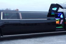 Our Fleet: 2015 Super-Stretched Suburban Limo with Gull-Winged Door