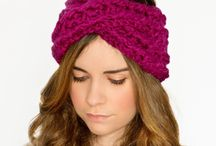 Crisscross chunky hairband crochet