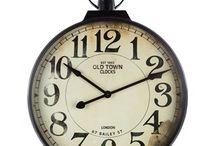 Clocks, clocks, clocks / I love clocks of all shapes and sizes.  I may start collecting them too!