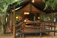 Falaza Luxury Tents / We have 15 luxury, twin bedded tents, equipped with modern amenities, some with indoor or outdoor bathrooms! http://falaza.co.za/the-lodge/luxury-tents/