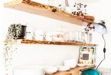polička kuchyně