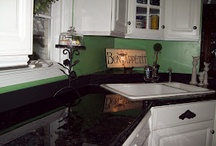 kitchen makeover / by Funky Junk Sisters