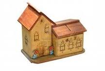 Mini Wooden Houses