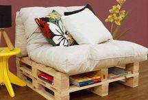 Καναπέδες απο παλέτες / Super ιδέες για Καναπέδες απο παλέτες