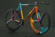 Bicycle paint jobs