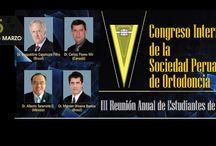 V CONGRESO INTERNACIONAL DE LA SOCIEDAD PERUANA DE ORTODONCIA / 19-20-21 MARZO