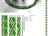 12es gyöngysor minták