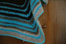 Plaids, coussins, rideaux au crochet / Crochet for home : plaids, coussins, rideaux au crochet.