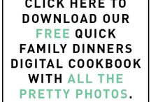 Family dinners ebook