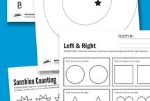 Free Kindergarten Printables / Free printables for kindergarteners. Ideas for math, science, reading, phonics, and more!
