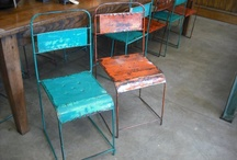 Antique and industrial furniture